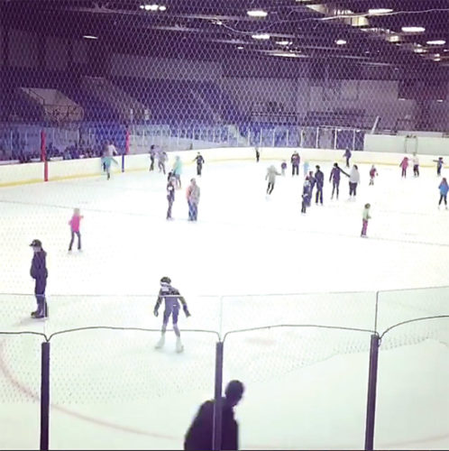 Submitted Photo The All Seasons Arena, inside the North Dakota State Fair Center, will host a free skate Saturday, and Sunday.