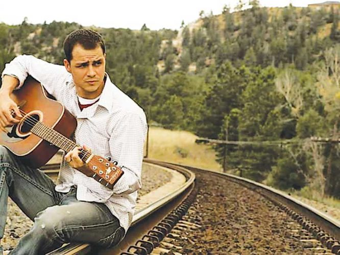 Submitted Photo   Singer, songwriter and guitarist Joey Anderson will perform at Souris River Brewing Co. Saturday at 7 p.m. The emerging country star infuses his Florida roots into his Minot sound.