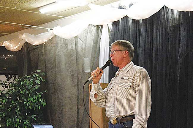 Submited Photo  TOP: Award winning caller Roger McNeil is known for his melodic voice and entertaining patter. McNeil will bring his flair for mixing traditional square dance with various genres of music to the Moose Lodge.