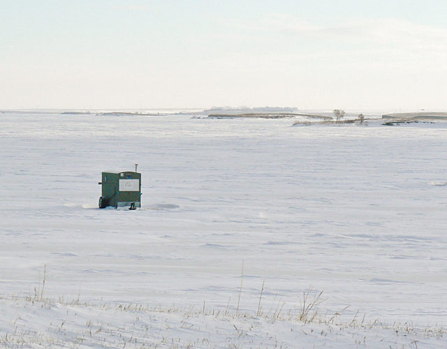 Kim Fundingsland/MDN Lake Sakakawea has been declared completely frozen for this winter season, following one of the longest open water seasons ever recorded on the reservoir.