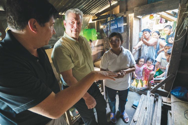 """SubmittedPhoto  Al Gore appears in """"An Inconvenient Sequel"""" by Bonni Cohen and Jon Shenk, an official selection of the Documentary Premieres program at the 2017 Sundance Film Festival. Courtesy of Sundance Institute."""
