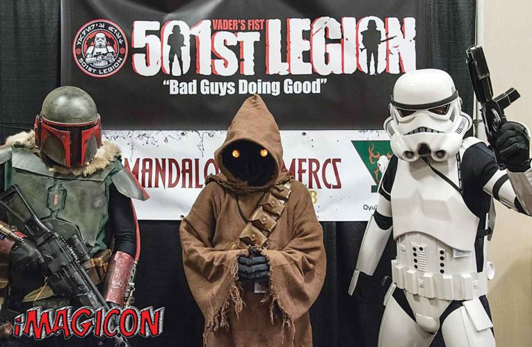 Submitted Photo Gaming gurus, comic book aficionados, costume designers and autograph seekers have lots to celebrate as iMagicon will make it's third appearance in Minot at the Holiday Inn Riverside, Friday, April 28-Sunday, April 30.
