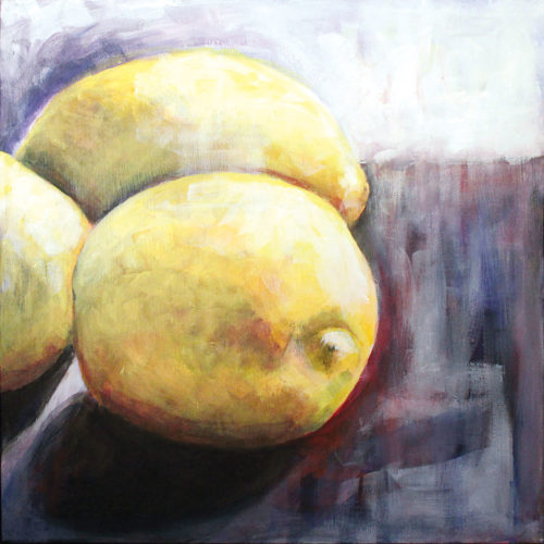 """Submitted photo  """"Lemon"""" by Elaine de Kooning will be one of many featured paintings during """"Women, Wine & Chocolate"""" tonight at Artspace Suite 1 Gallery."""