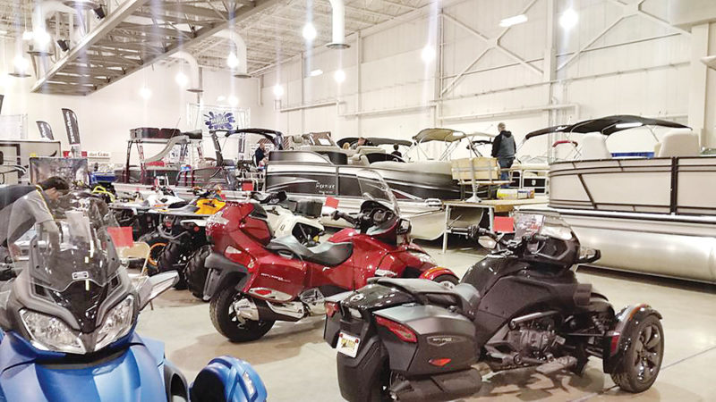 Submitted Photo  The sight of bodacious speedboats and breathtaking motorcycles is a reminder that spring is quickly approaching.