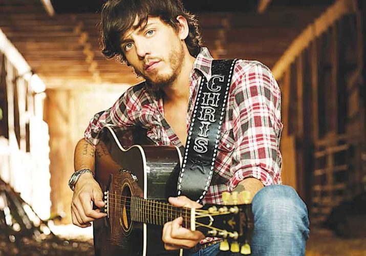 "Submitted Photo Chris Janson looks forward to performing smash hits ""Buy Me a Boat"" and ""Holdin' Her,"" Saturday at 4 Bears Casino & Lodge."
