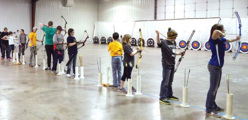 Submitted Photo  4-H youth will take their best shots during the Northwest District Archery Tournament, Saturday, at the North Dakota State Fairgrounds.