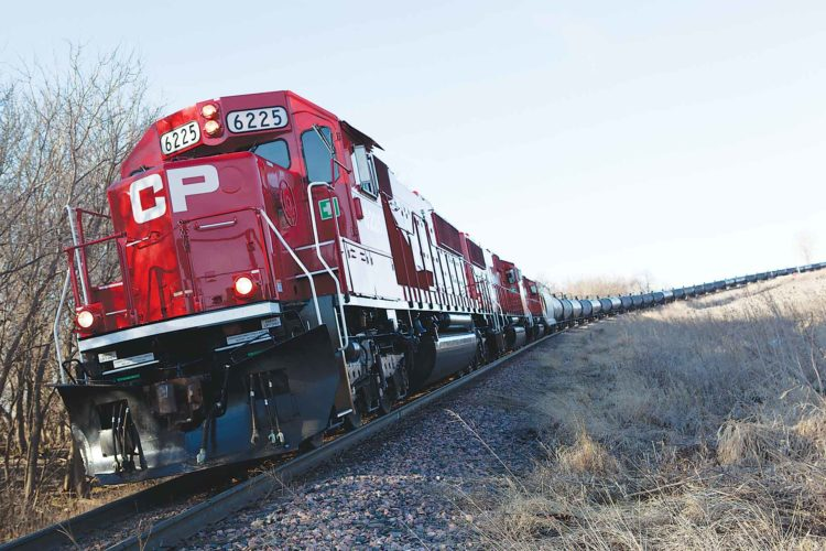 "Submitted Photo  Canadian Pacific Railway officials said 2016 was ""burdened with stiff economic headwinds and a challenging volume environment, the strength of the model was tested and proven."" The railway is looking ahead to a better year in 2017, including project work planned in North Dakota. Photo provided by CP Rail."