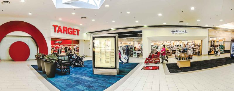 SubmittedPhoto   Iconic retailers such as Target, Barnes & Nobles, Victoria's Secret, Hallmark Gold Crown, Sears and J.C. Penney are matched with up and coming retailers Ulta Beauty, KJ's Fresh Market, Apricot Lane and Carter's OshKosh B'gosh at Dakota Square Mall.
