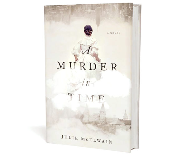"Submitted Photo Julie McElwain will sign her latest novel,  ""A Twist in Time,"" at Main Street Books during a book signing tonight, from 5-7 p.m."