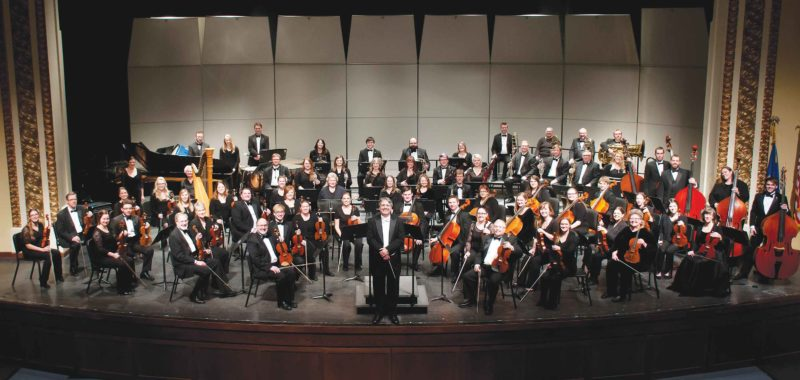 Submitted Photo  Today's Minot Symphony Orchestra under the direction of Efrain Amaya includes musicians from all walks of life.