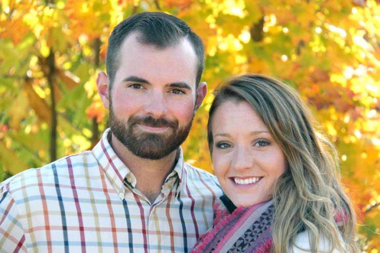 Oliver Cornet and Erica Wilson