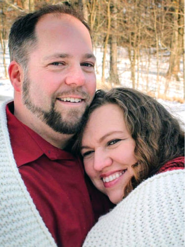 Michael Mollenkopf and Patricia Jones