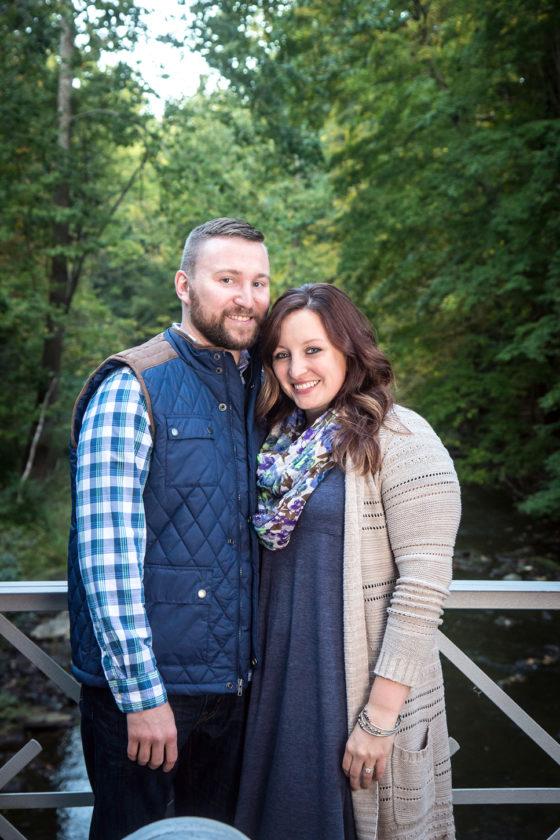 Chris Johnson and Katie Malloy