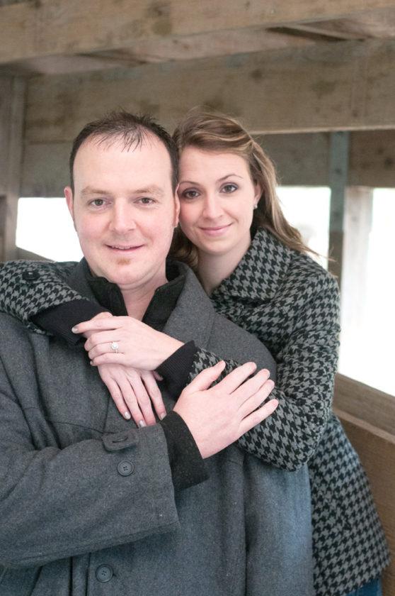 John Wood and Jessica Thompson