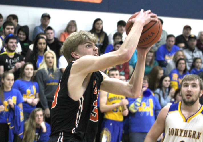 Wellsville senior Justin Miller is the Morning Journal's 2016-17 All-Area player of the year. (Morning Journal/Joe Catullo)