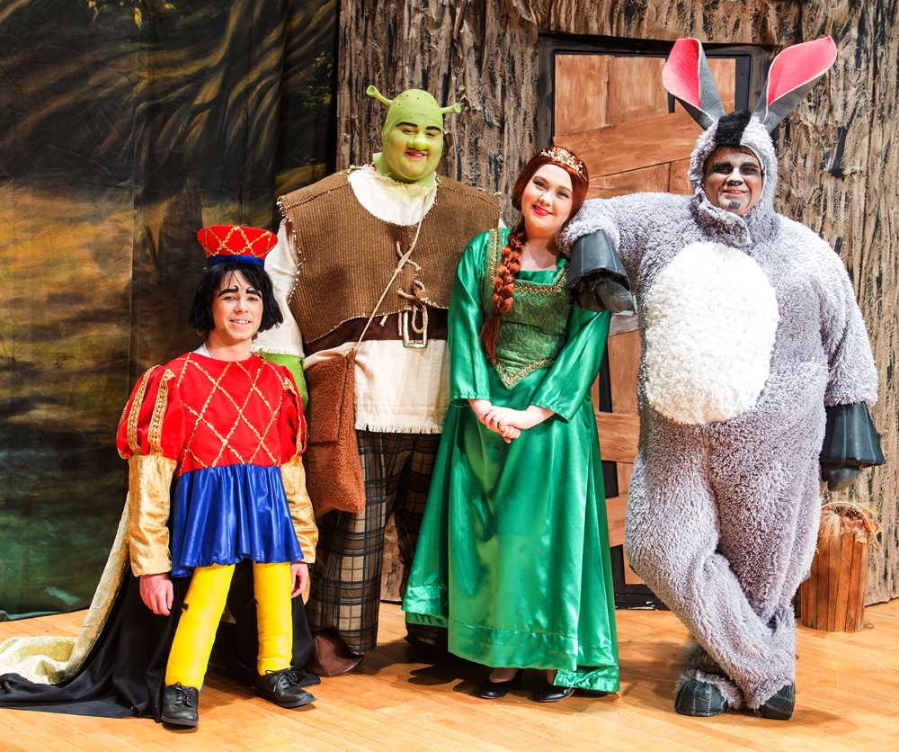 shrek the musical essay Tuacahn's shrek the musical is the story of one man's journey to obtain a title for  his land well, that, plus his quest to rescue a princess, topple.