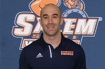 Photo courtesy of Salem State Former DWC men's soccer coach Matt Correia was named the new head men's coach at Salem State on Thrusday.