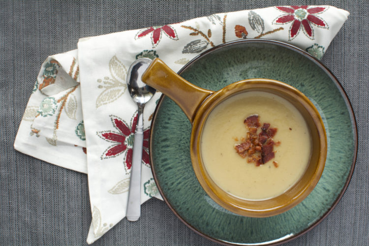 Photo courtesy of DANIELLE GAGNON Shown is parsnip and apple soup, in a recipe by Danielle Gagnon.