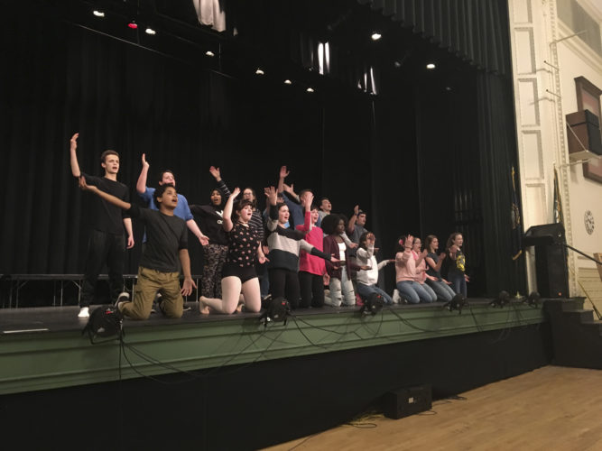 "Courtesy photo At 6:30 p.m. March 24-25, the Maskers Drama Club and Central Community Players will present ""Fame, the Musical"" at Central High School's McAllaster Hall, 207 Lowell St., Manchester."