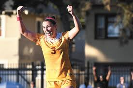 Telegraph file photo Milford's Morgan Andrews, who helped USC to an NCAA championship, was officially signed by the Boston Breakers on Thursday.