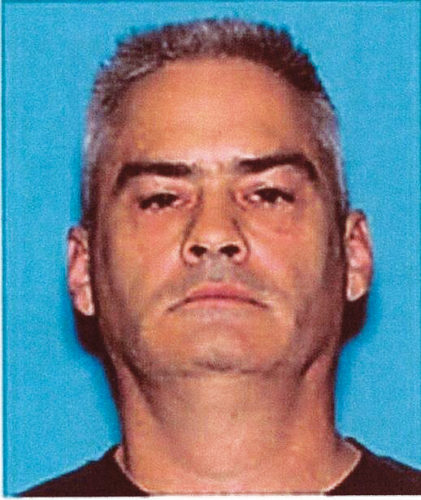 U.S. Marshals Task Force photo Gary Wayne Melick, Jr., 52, of Pennsylvania, arrested in Nashua March 21 by U.S. agents