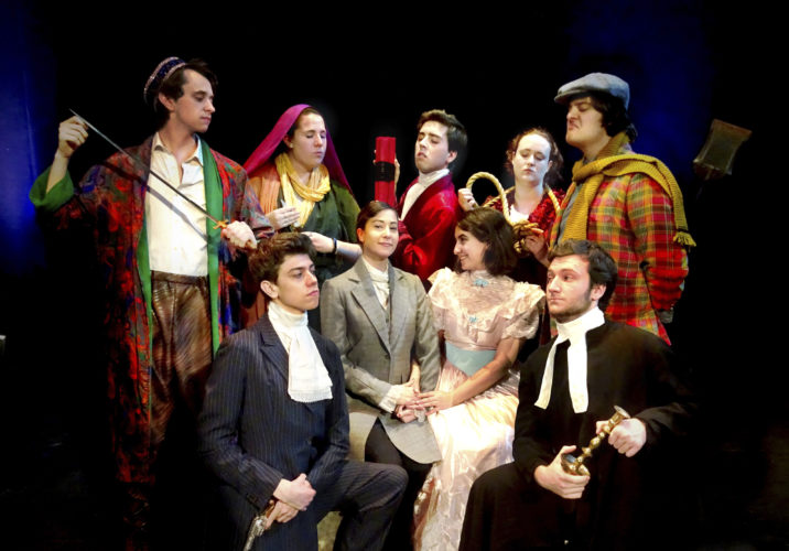 "Courtesy photo This weekend and next, The Abbey Players at Saint Anselm College will present ""The Mystery of Edwin Drood"" at the Dana Center theater venue, 100 Saint Anselm Dr., Manchester."