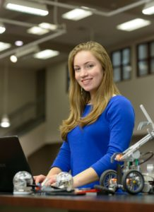 Courtesy photo Nashua High School South senior Jillian MacGregor has been named the 2017 TechStudent of the Year by TechWomen/TechGirls, a program of the New Hampshire High Tech Council. Along with two other award recipients from the community, MacGregor will be honored April 5 at the Bedford Village Inn for her contributions in promoting STEM studies, particularly among girls.