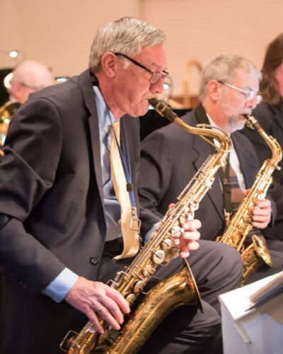 "Photo courtesy of CHUCK SWIERAD From 5:15-11 p.m. Saturday, the Windham Community Bands organization will hold its 19th annual ""Evening of Music"" fundraiser concert at the Castleton Banquet and Conference Center,  58 Enterprise Drive, Windham."