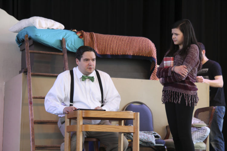 """Courtesy photo This weekend and next, Manchester Community Theatre Players will present """"Yours, Anne,"""" a musical work based on """"Diary of a Young Girl"""" by Anne Frank, at the MCTP Theatre at the North End Montessori School, 698 Beech St., Manchester."""