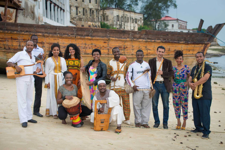 Photo courtesy of PETER STANLEY At 7:30 p.m. Saturday, The Nile Project will perform at the Dana Center performing arts venue of Saint Anselm College, 100 Saint Anselm Drive, Manchester.