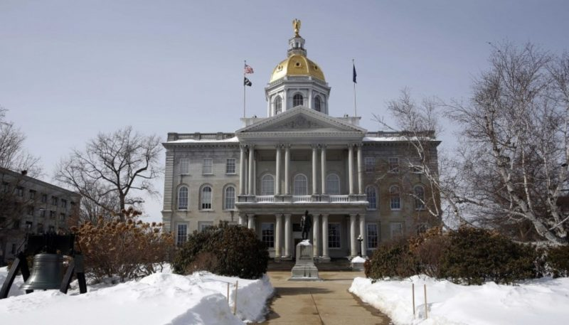 File photo by The Associated Press  The Statehouse in Concord, N.H.