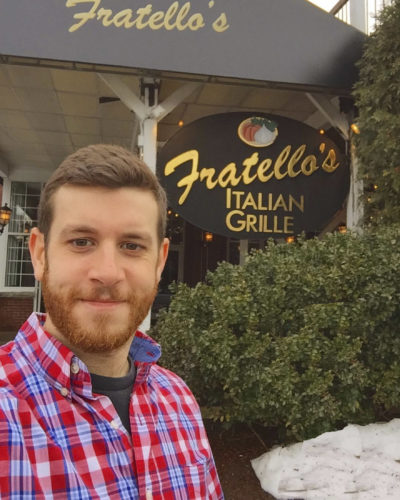 Courtesy photo Brad Bosse will perform Saturday at Fratello's Italian Grille, 155 Dow St., Manchester.