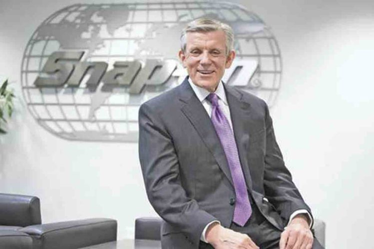 "Photo Provided Nick Pinchuk, president and CEO of Snap-on Inc., will discuss ""The Dignity of Work"" as the keynote speaker at the Economic Roundtable of the Ohio Valley noon Wednesday at the Parkersburg Country Club in Vienna."