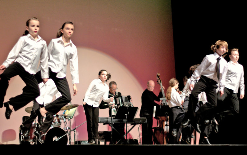 Photo courtesy of Denise Cerniglia The North Carolina Youth Tap Ensemble will perform at several Mid-Ohio Valley schools between Oct. 3-7 as part of Artsbridge's Artist-On-Tour series.