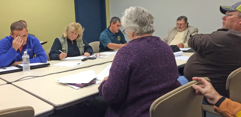 Photo by Brett Dunlap The Wood County Parks and Recreation Commission held a special meeting Thursday to discuss the future of the White Oak facility after Pressley Ridge recently announced it will cease operations there. The commission is looking for a new tenant for the facility.