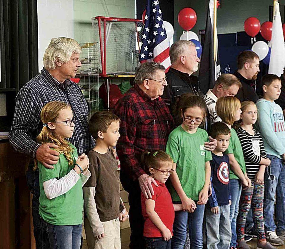 Schools celebrate Veterans Day