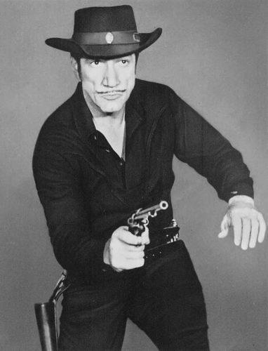 Photo Provided Richard Boone as Paladin.