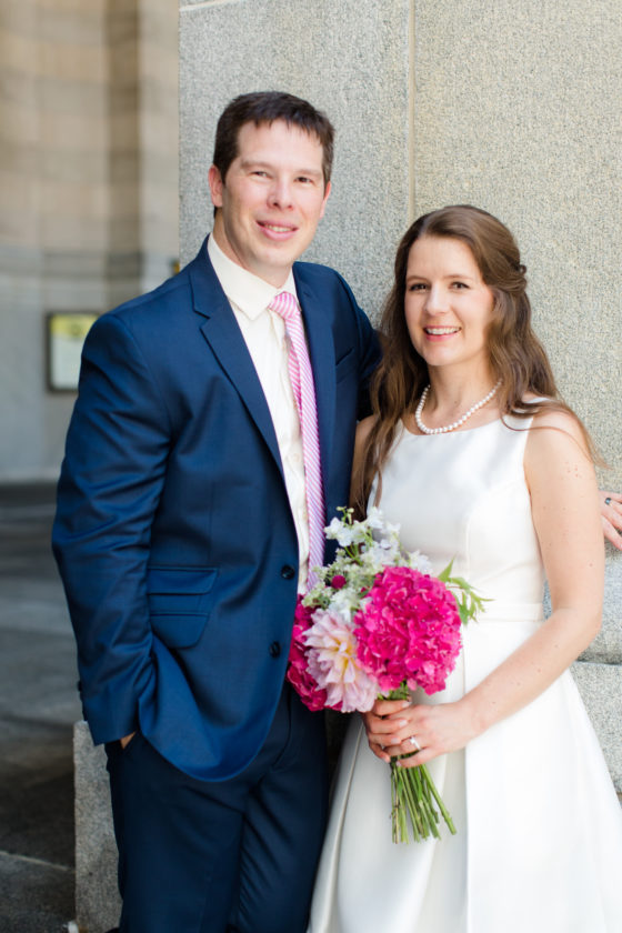 Mr. and Mrs. Brian Reitnauer