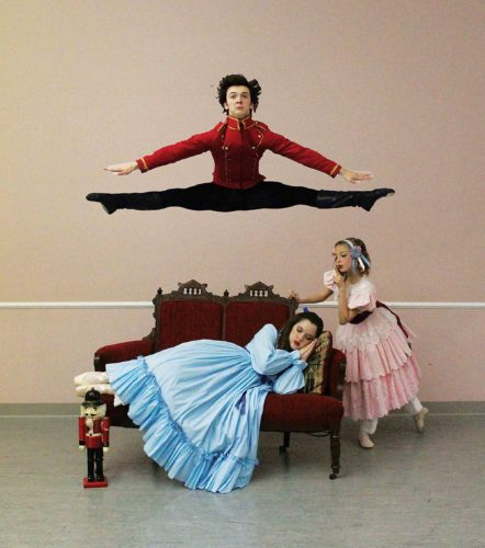 """The Schrader Youth Ballet Company of Parkersburg will present """"The Nutcracker (Clara's Dream)"""" 7:30 p.m. Dec. 17 at the Smoot Theatre, a matinee at 3 p.m. Dec. 18 at the Peoples Bank Theatre in Marietta and a performance for the schools at 12:30 p.m. Dec. 16 at the Smoot. Tickets are available. (Photo Provided)"""