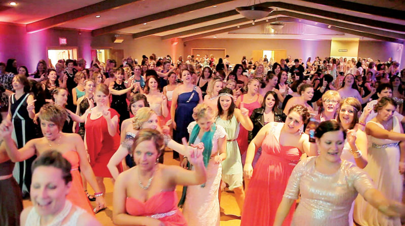 File Photo A scene at last year's Mom Prom. This year's event is scheduled for April 28.