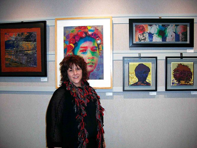 Photo Provided The Michele Binegar art exhibit will be on display through Jan. 31 at WesBanco Bank, 415 Market St., in downtown Parkersburg.