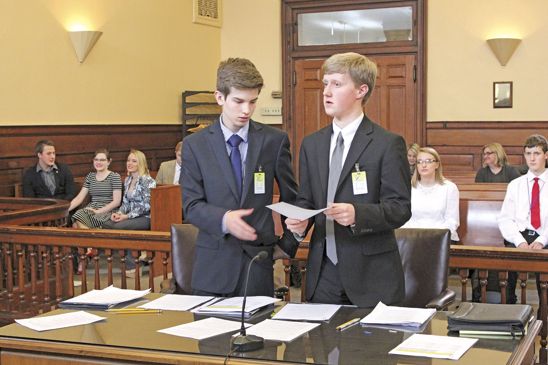 warren high school students testify to the benefits of mock trials warren high school students testify to the benefits of mock trials news sports jobs news and sentinel