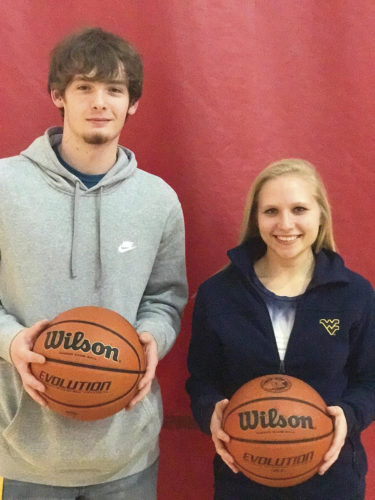 Calhoun County seniors Zack Yanero and Makayla Smith are trying to make the most of their final basketball season for the Red Devils. Photo submitted.