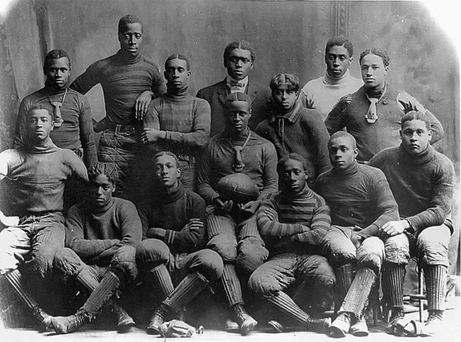 Photo provided by Artcraft Studio Sumner School football team, circa 1903.