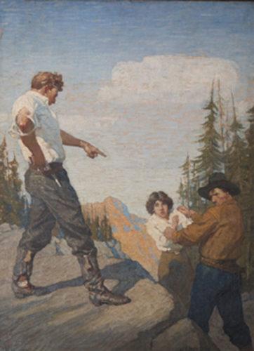 Nan of Music Mountain by N. C. Wyeth