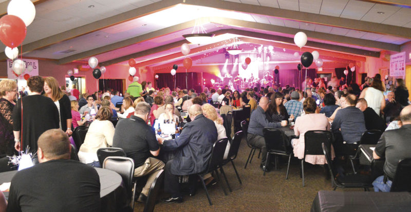 Photo by Doug Loyer A large crowd came out to support the Fur Ball, the annual fundraiser for the Humane Society of the Ohio Valley.