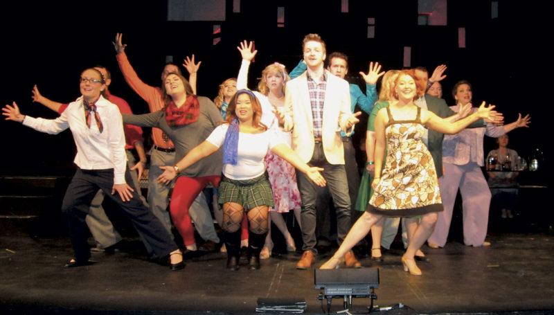 """Photo by Wayne Towner The Actors Guild of Parkersburg will open its production of the musical comedy """"Company"""" on Friday at the Guild Playhouse at Eighth and Market streets in Parkersburg. The show dates are Friday, Saturday, April 28-30 and May 5-6."""