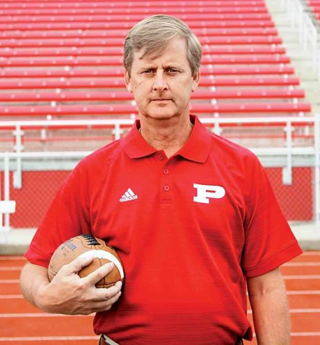 Don Reeves stepped down as Parkersburg High School's head football coach Wednesday.