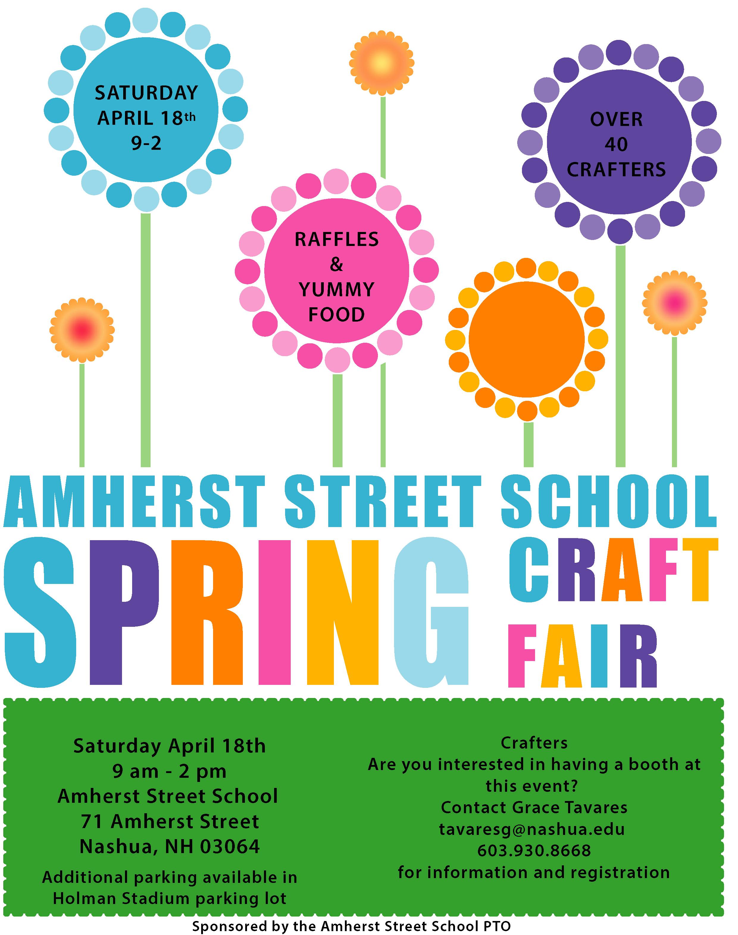 Amherst Street School Spring Craft Fair