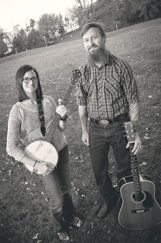 Photo courtesy of DD & Rosco Siblings Danielle and Ross Deopere, who perform as DD & Rosco, will hold a CD release party on Saturday at The Pantry in downtown New Ulm